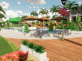 by ROQA.7 ARQUITECTURA Y PAISAJE Tropical