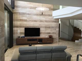 DYOV STUDIO Arquitectura, Concepto Passivhaus Mediterraneo 653 77 38 06 Yemek OdasıAksesuarlar & Dekorasyon Mermer Bej