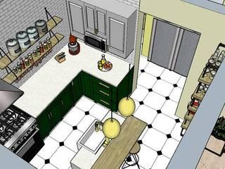 Diseño y Construcción de Cocina de InterDesign Ecléctico