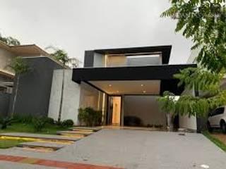 Residência Alto Padrâo CR Construtora Condomínios Preto