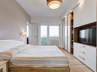 Skandinavische Schlafzimmer von EF_Archidesign Skandinavisch