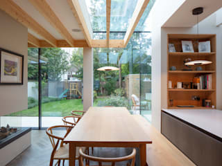 Cambridge Park House TAS Architects Minimalist dining room