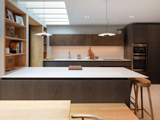 Cambridge Park House Cucina minimalista di TAS Architects Minimalista