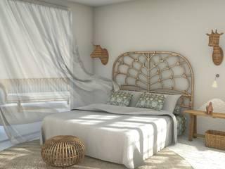 Śródziemnomorska sypialnia od Blophome Śródziemnomorski