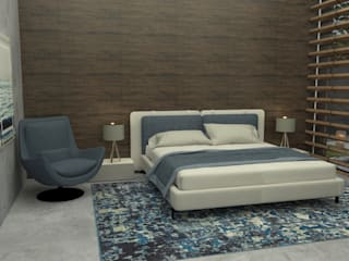 A funcionalidade de um ambiente... Quartos modernos por Casactiva Interiores Moderno