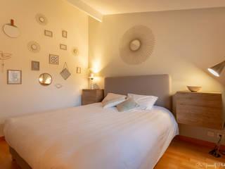 Décoration et aménagement intérieur d'une chambre Chambre moderne par V.CO DECORATION INTERIEUR Moderne