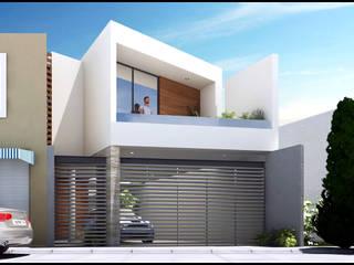 Villa Teresa Casas modernas de Geometrica Arquitectura Moderno