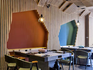 变若水御膳鍋物 Zendo 深度空間設計 餐廳 木頭 Wood effect