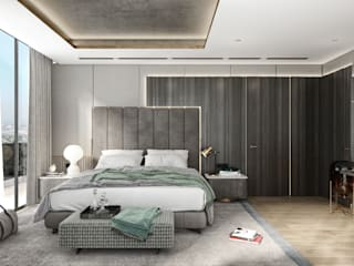 WALL INTERIOR DESIGN Modern Bedroom
