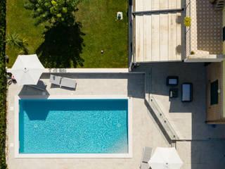 PISCINE TECNOIMP Piscinas de jardín Concreto reforzado Azul