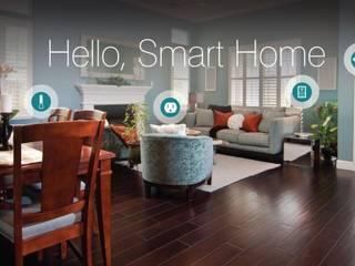 Smart Home or Home Automation with castle in cairo: حديث  تنفيذ كاسل للإستشارات الهندسية وأعمال الديكور في القاهرة, حداثي