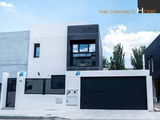 Modelo Cárcavas de The Concrete Home Moderno