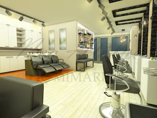 Bayan Kuaför Salonu Tasarımı NEG ATÖLYE İÇ MİMARLIK