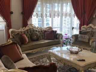 KONUT PROJESİ / A. ŞENGÜL Klasik Oturma Odası Derya Malkoç İç Mimarlık Klasik