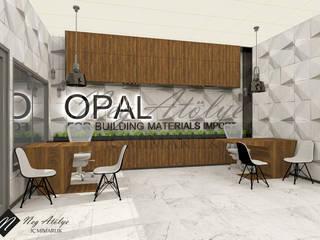 Duş Sistemleri Showroom Mağaza Tasarımı Modern Çalışma Odası NEG ATÖLYE İÇ MİMARLIK Modern