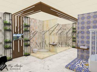 Duş Sistemleri Showroom Mağaza Tasarımı NEG ATÖLYE İÇ MİMARLIK