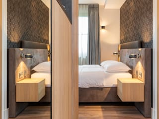 Grote slaapkamer met inloopkast De Suite Moderne slaapkamers
