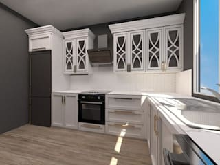 A. MALKOÇ / MUTFAK PROJESİ Modern Mutfak Derya Malkoç İç Mimarlık Modern