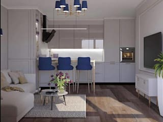 Bespoke kitchen inspiration for luxury homes di Luxury Chandelier Classico
