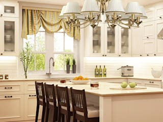 Bespoke kitchen inspiration for luxury homes Luxury Chandelier Kitchen units Copper/Bronze/Brass Amber/Gold