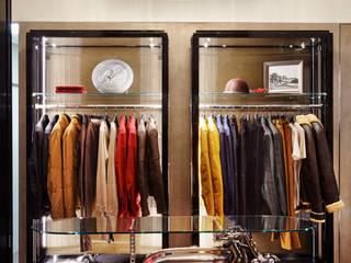 Belstaff Flagship Store Ruang Komersial Klasik Oleh Collier Webb Klasik