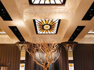 Bespoke Lighting for Fera at Claridges Eclectic style hotels by Collier Webb Eclectic