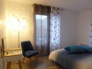 Décoration d'un appartement pour la location courte durée Hôtels modernes par IDEA (Interior design & Exceptional Architecture) Moderne