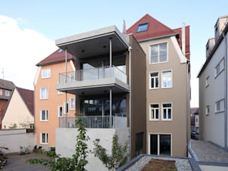 Architekturbüro zwo P Multi-Family house Multicolored