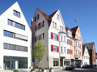 Architekturbüro zwo P Multi-Family house Beige