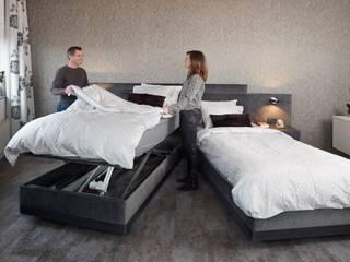 Hoog laag bedden De Suite SlaapkamerBedden en hoofdeinden