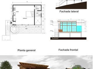 Cabaña San Cristobal:  de estilo  por MD estudio, Moderno