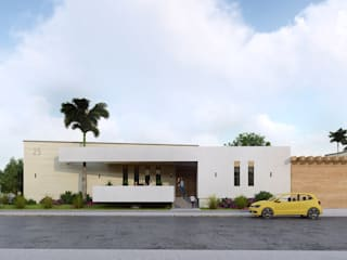 Diseño y Construcción de Casa estilo contemporáneo Casas modernas de Merarki Arquitectos Moderno