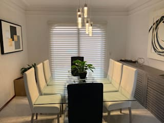 PERZA Persianas y Cortinas Dining roomAccessories & decoration Tekstil White