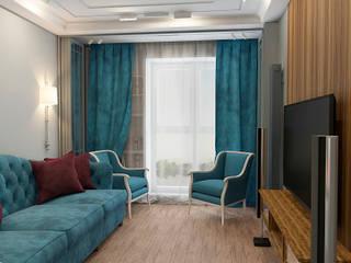 Classic style living room by STUDIO DESIGN КРАСНЫЙ НОСОРОГ Classic
