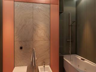 Minimalist bathroom by STUDIO DESIGN КРАСНЫЙ НОСОРОГ Minimalist