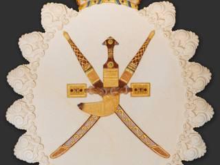 stemma del sultano dell'Oman:  in stile  di CusenzaMarmi, Classico