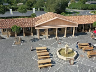Mediterranean style event venues by Rimini Baustoffe GmbH Mediterranean