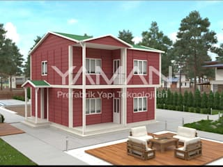 150 m2 Dubleks Prefabrik Ev Prefabrik Ev (Yaman Prefabrik)