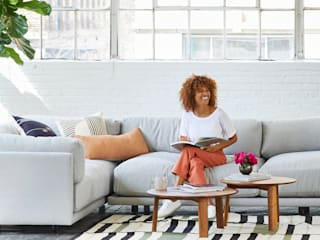 Flexibele meubel-abonnementen: modern  door Homespring.co, Modern
