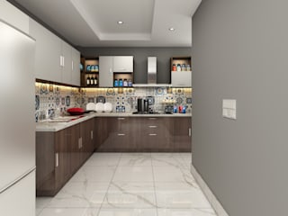 Modular Kitchen View of M3M Merlin Gurgaon by Designers Gang