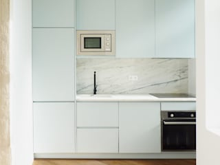 SBranco_Design&Architecture Studio Unit dapur MDF Blue