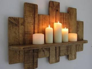 ديكور داخلي خشبي مع شموع: كلاسيكي  تنفيذ Wooden House - Jordan,كلاسيكي