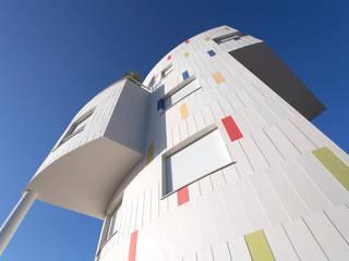 Barreres del Mundo Architects. Arquitectos e interioristas en Valencia. Modern Houses Ceramic Multicolored