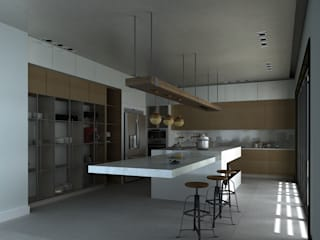 A.DESIGN Cocinas a medida Blanco