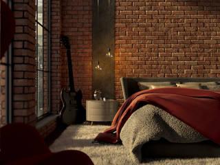 Glock Studios ห้องนอน