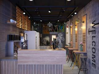 Thiết kế nội thất quán trà sữa Heytea - Hải Phòng Thiết Kế Nội Thất - ARTBOX