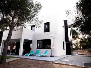 Modelo Valdemorillo de The Concrete Home Moderno
