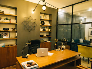 The Unusual Design Modern study/office by THE UNUSUAL DESIGN Modern