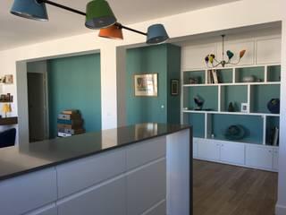 Appartement Paris Batignolles Cuisine moderne par Christine Fath architecte d'intérieur CFAI Moderne