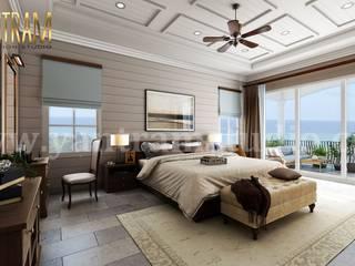 Dormitorios pequeños de estilo  de Yantram Architectural Design Studio, Moderno
